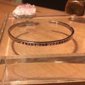 "✨Mantraband ""Enjoy the Journey"" Cuff"